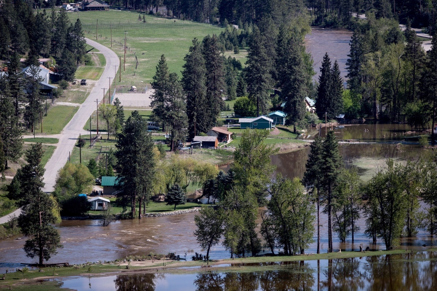 Inondations en Colombie-Britannique: certaines évacuations levées