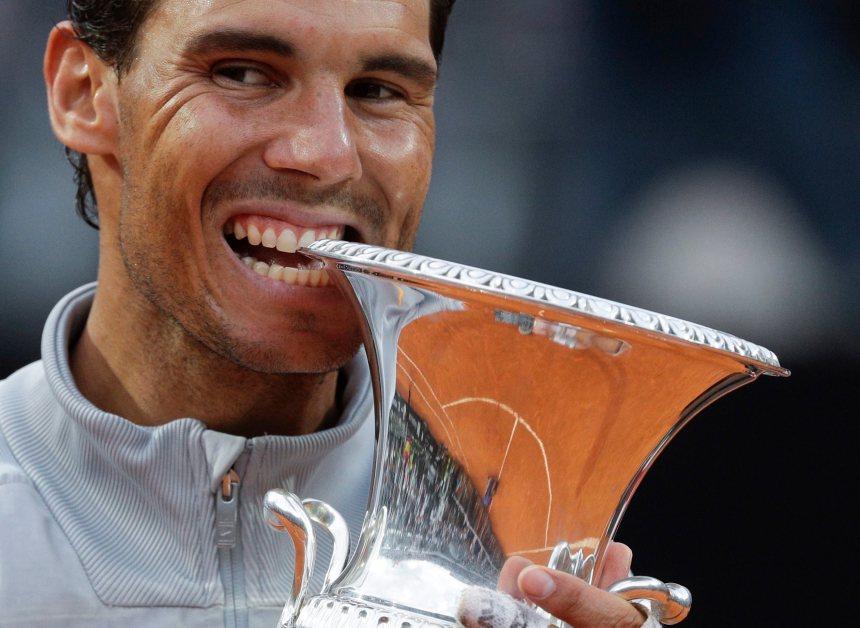 Nadal obtient son 8e titre à l'Omnium d'Italie