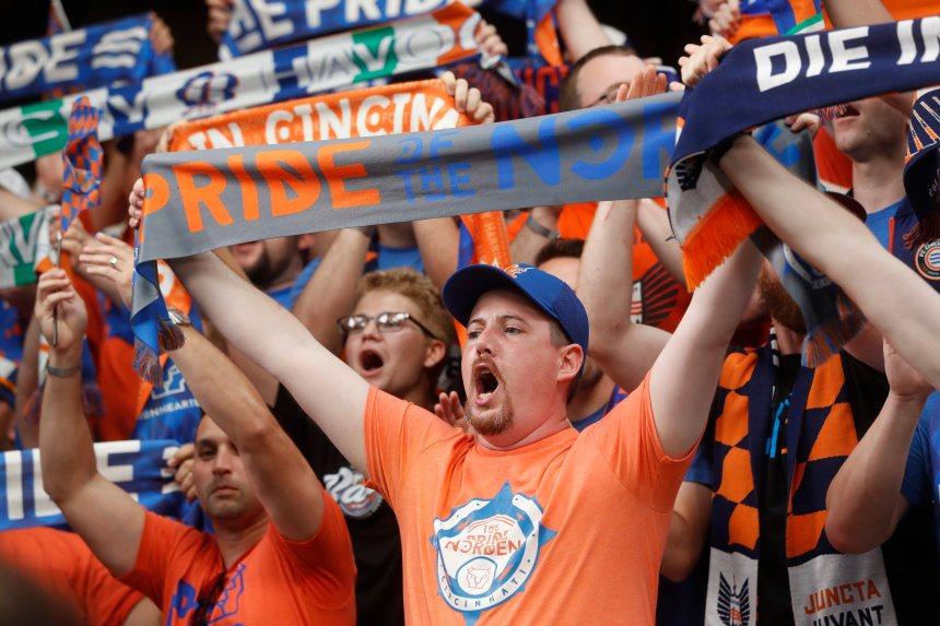 Cincinnati se joint à Major League Soccer