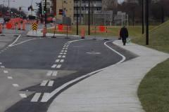 Entraves à la circulation au pont d'étagement de la rue Sherbrooke
