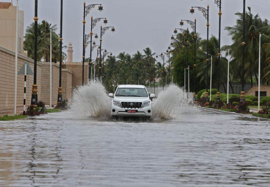 Le cyclone Mekunu menace Oman