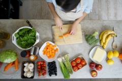 Une alimentation semi-végétarienne permettrait de prévenir l'obésité