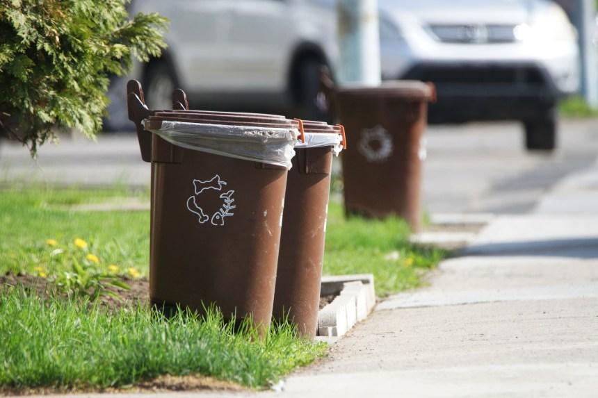 Montréal débourse 5M$ de plus pour gérer plus de matières compostables