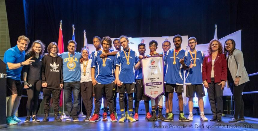 Médailles pour les Laurentiens au Défi sportif AlterGo