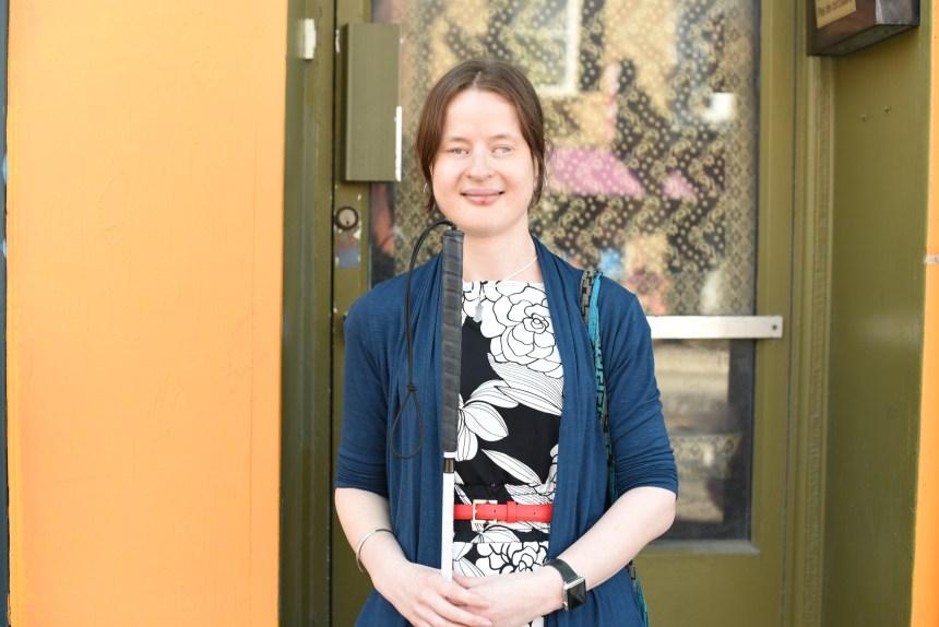 Camille St-Laurent, candidate provinciale