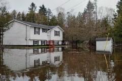 Québec maintient son avis de risque élevé d'inondations de l'Outaouais à Québec