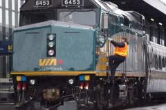 Un train de Via Rail parti de Halifax pour Montréal a été endommagé