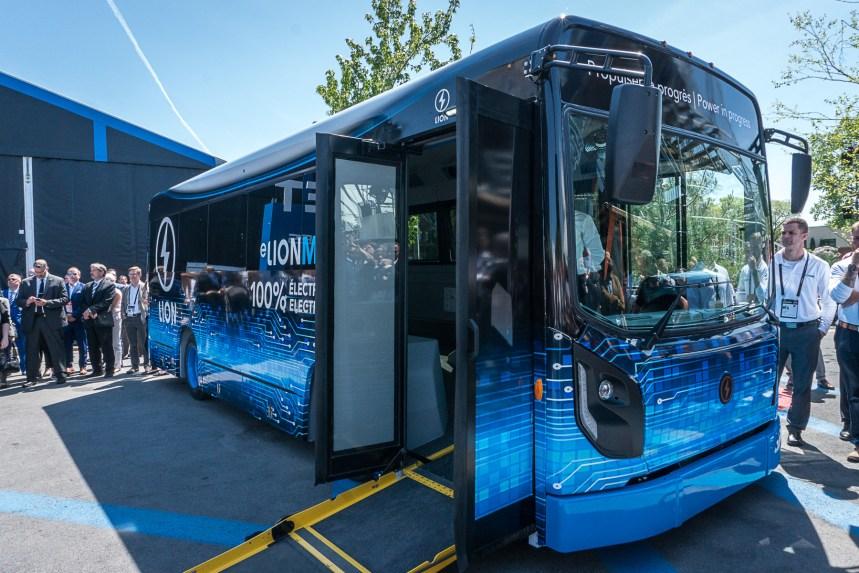 Un midibus électrique 100% québécois sur le marché