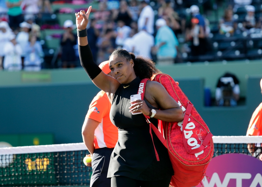 Serena Williams se retire de la Coupe Rogers