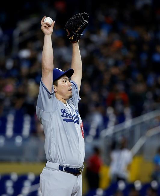 Les Dodgers blanchissent les Marlins 7-0