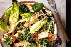 Du poulet cajun pour souper et en salade pour le lunch!