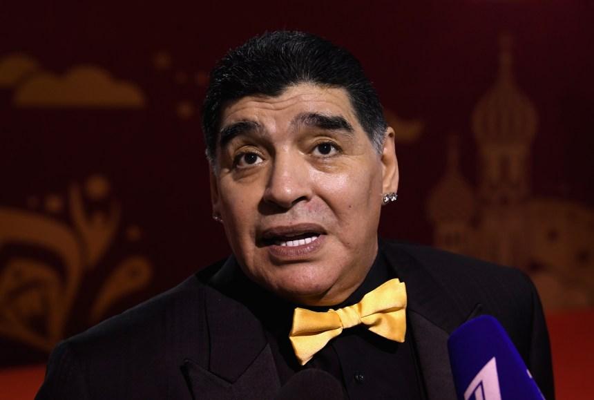 Maradona devient président d'un club biélorusse