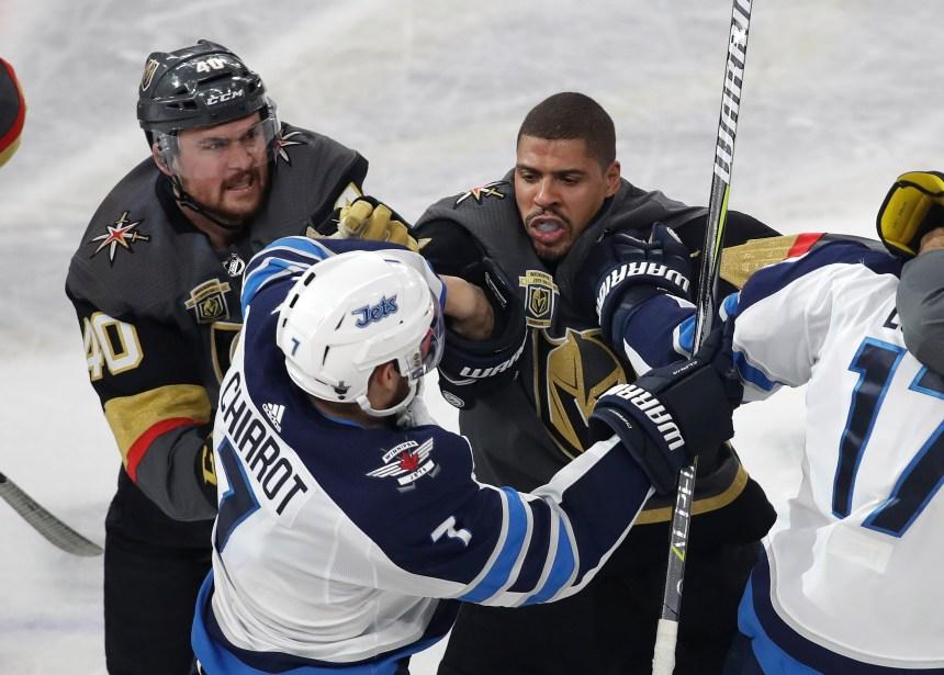 Histoire de la violence au hockey