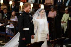 Meghan Markle et le prince Harry: leurs tenues de mariage exposées au château de Windsor