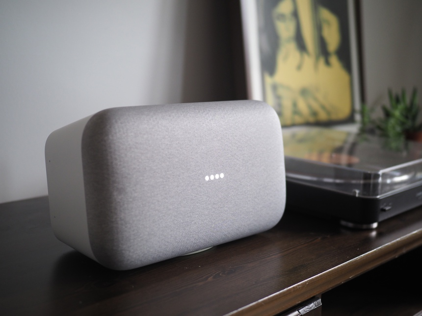 Essai du Google Home Max: Google à pleins poumons