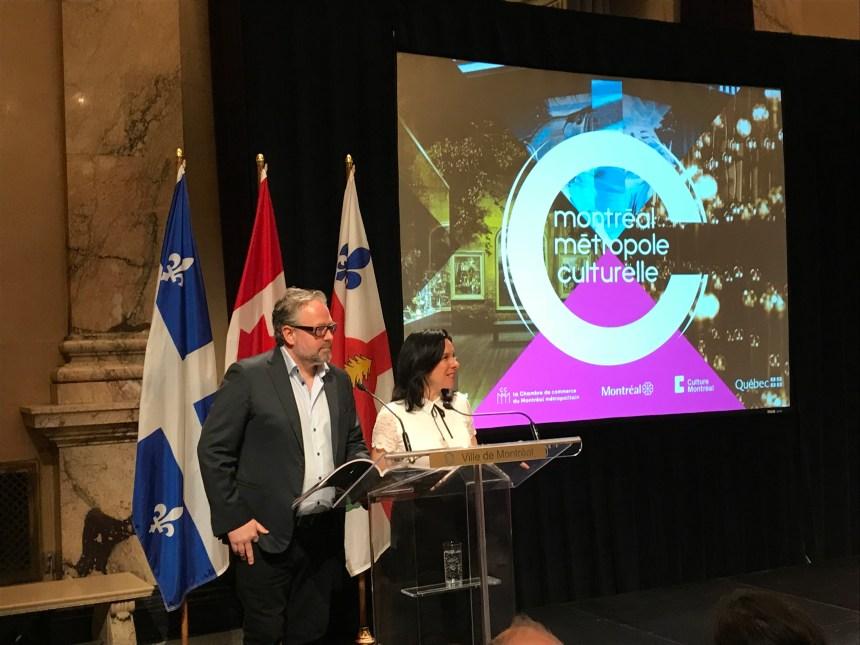 L'importance de la culture à Montréal soulignée