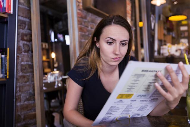 Les calories officiellement affichées sur les menus américains