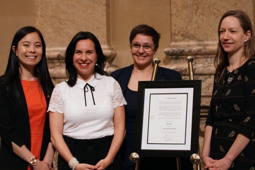 Raïf Badawi devient citoyen d'honneur de Montréal