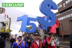 Le salaire minimum sera haussé à 15$ à la Ville, assure Valérie Plante