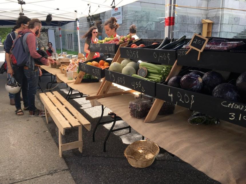 Un nouveau marché solidaire voit le jour dans Hochelaga-Maisonneuve