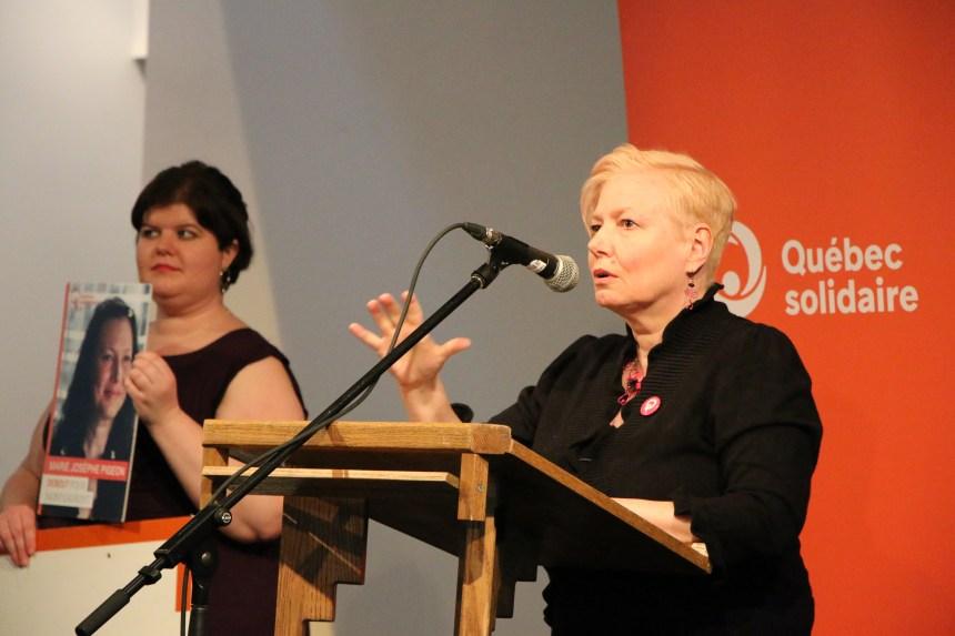 Marie Josèphe Pigeon, indépendantiste et solidaire