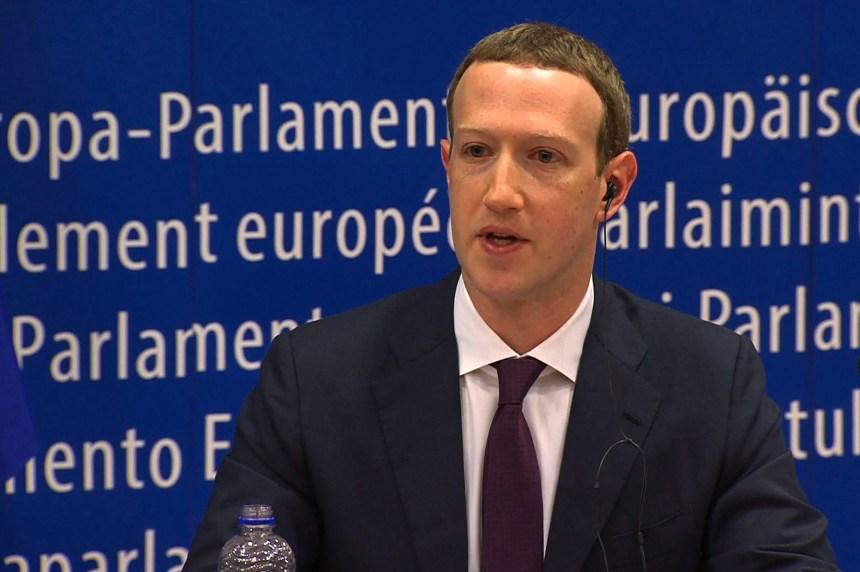 Mark Zuckerberg présente ses excuses au Parlement européen