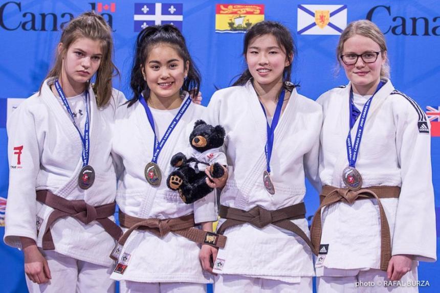 Une judoka du Sud-Ouest première au Québec