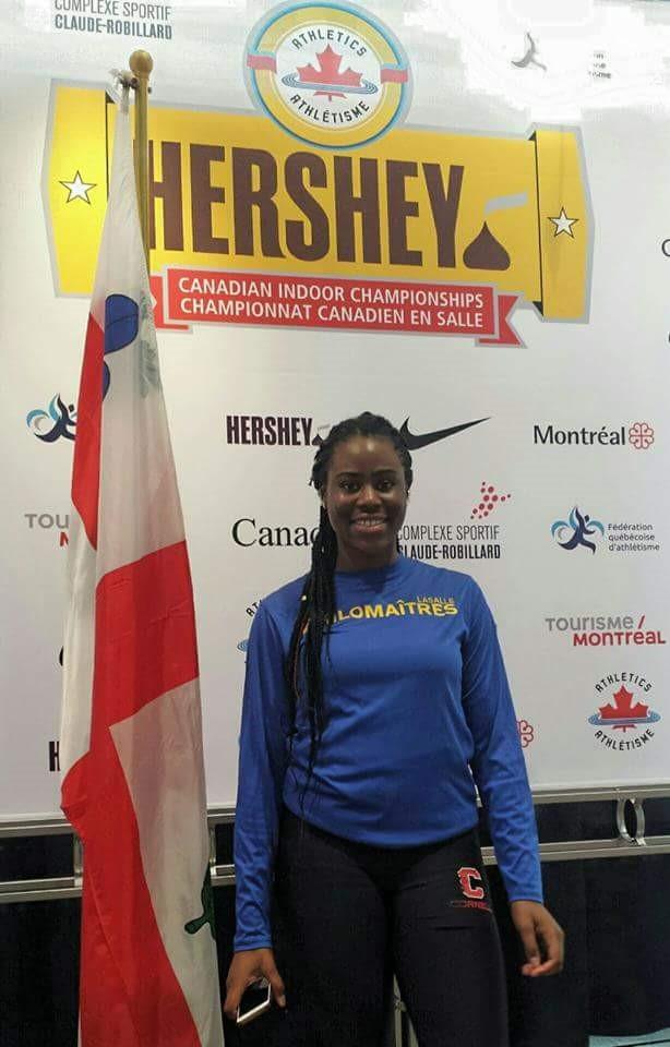 Une jeune athlète laSalloise bat des records