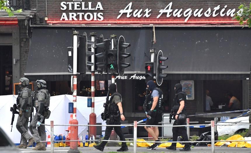 Une forcené tue trois personnes en Belgique et est abattu