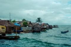 Une population indigène déplacée par les changements climatiques
