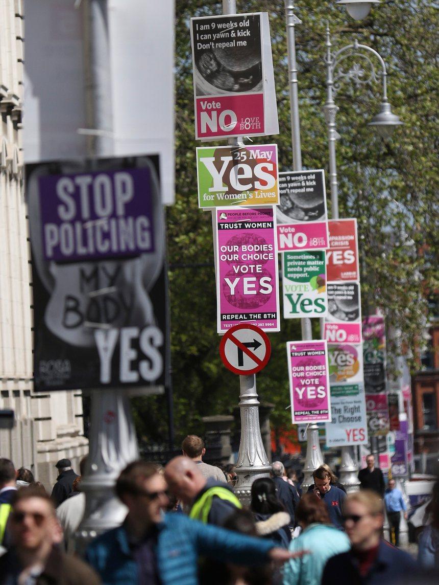 Les Irlandais votent vendredi sur l'avortement