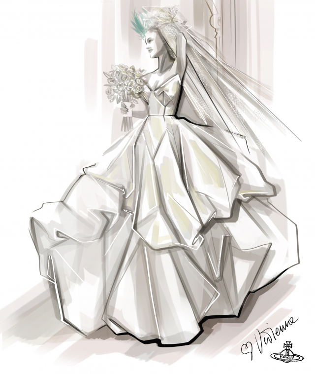 La robe de mariée de Carrie Bradshaw exposée à New York