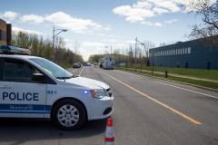 Corps découvert dans Saint-Laurent: un homme arrêté