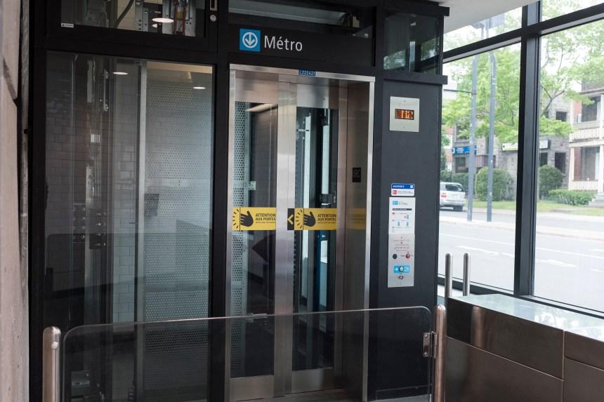 La station du Collège accessible