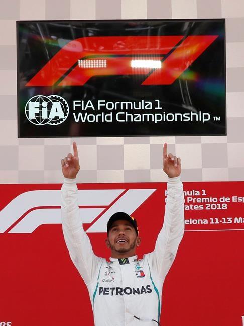 Hamilton remporte facilement le GP d'Espagne