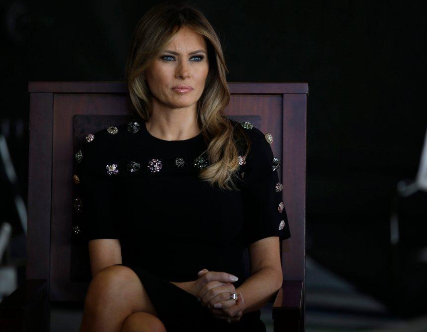 Melania Trump dit être «la personne la plus harcelée au monde»