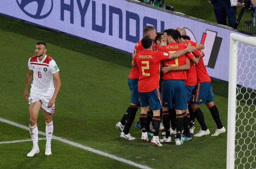 L'Espagne arrache un nul de 2-2 au Maroc