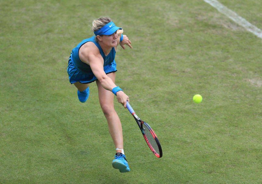 Eugenie Bouchard se qualifie pour Wimbledon