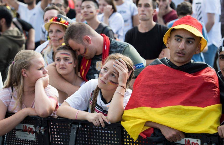 L'Allemagne est éliminée au Mondial
