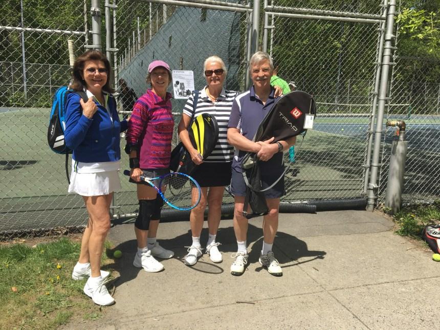 Changement dans les réservations de tennis à L'Île-des-Sœurs