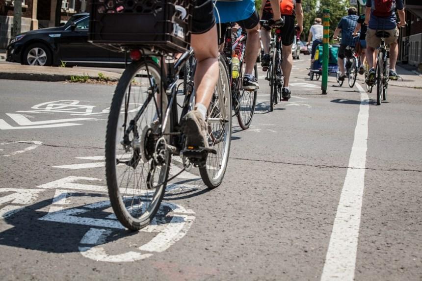 Les cinq premiers axes du Réseau Express Vélo aménagés d'ici 2021