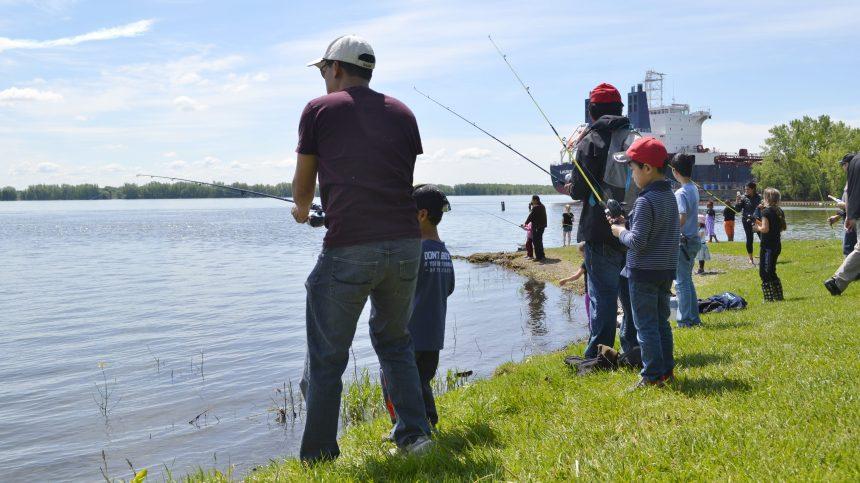 Un apprentissage gratuit de la pêche à RDP