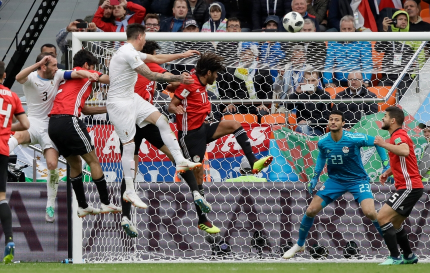 L'Uruguay l'emporte 1-0 contre l'Égypte