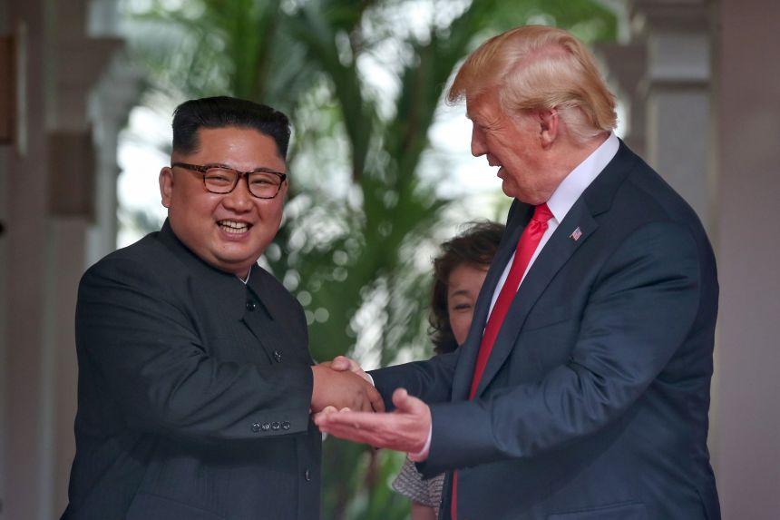 Dénucléarisation: Trump convaincu que Kim Jong-un respectera «la poignée de main»
