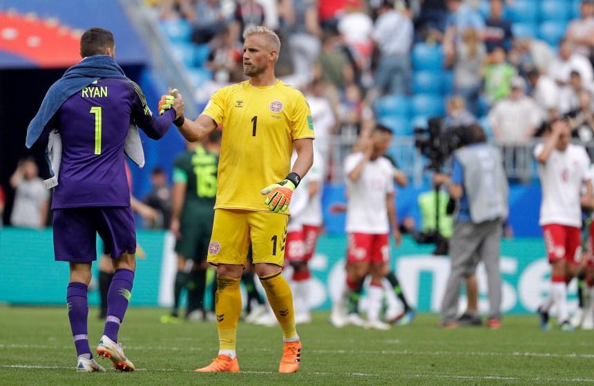L'Australie arrache un match nul au Danemark