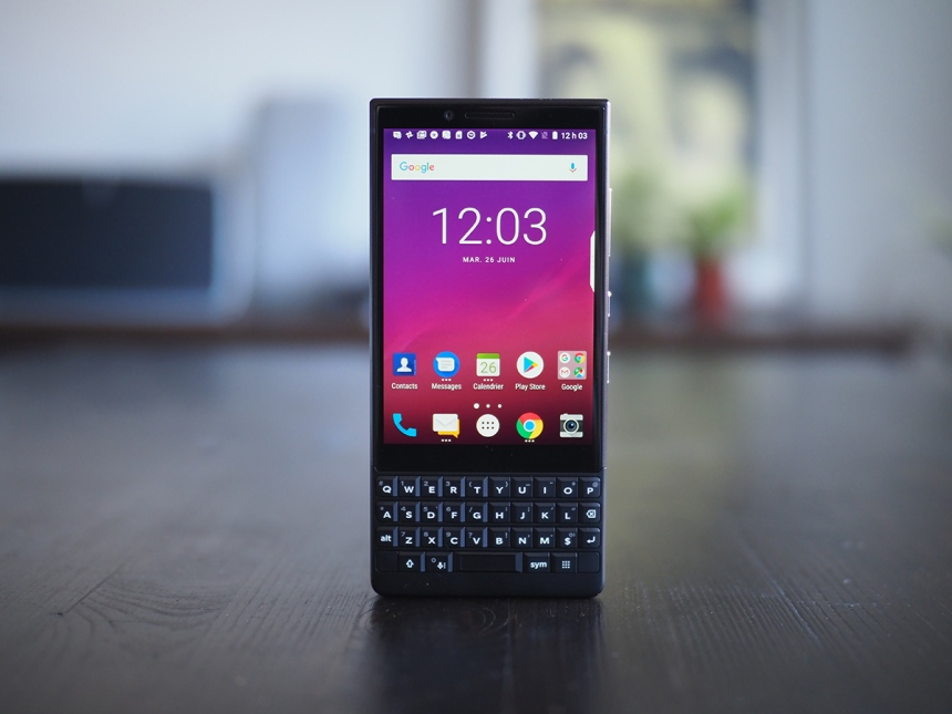 Essai du BlackBerry KEY2: une belle surprise