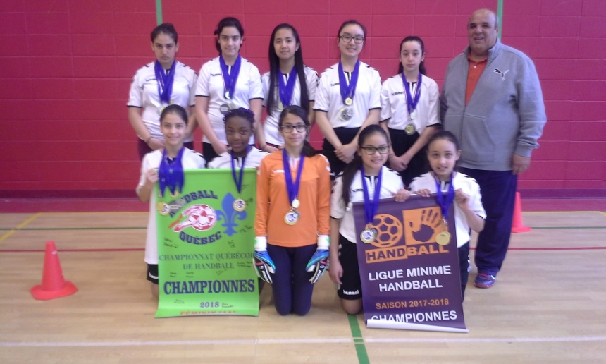 Championnes de handball