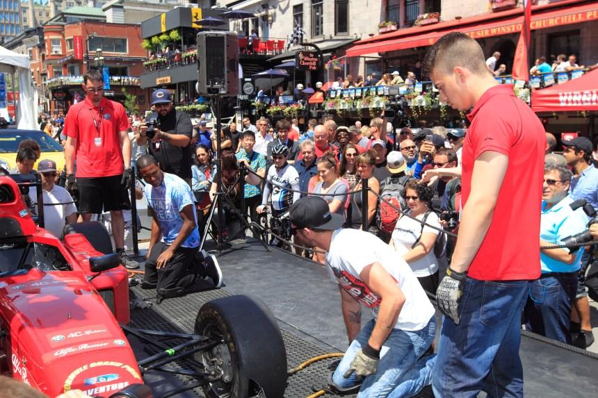 Ça fête à Montréal pendant le week-end de la F1!