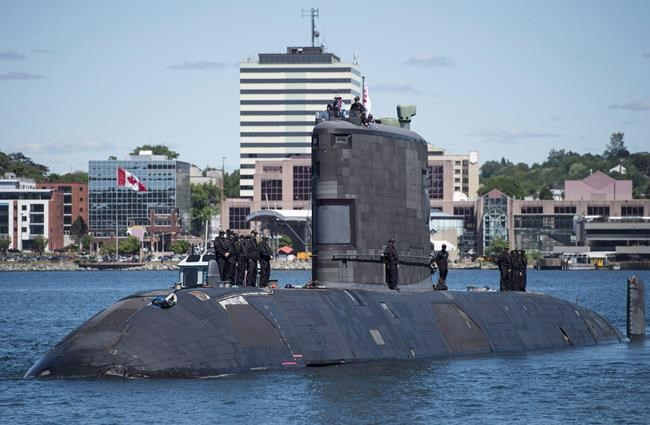 Le NCSM Windsor est de retour à Halifax