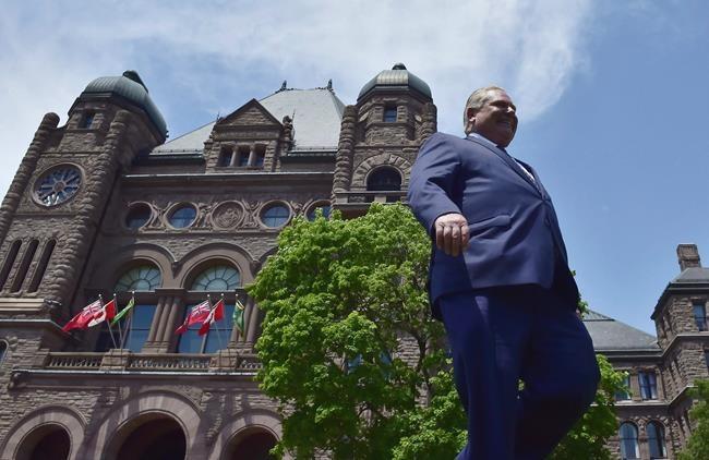 Doug Ford deviendra premier ministre vendredi